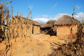 Rural house in Pomerini in Tanzania - Africa
