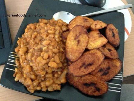 nigerian-food_beans-and-plantain